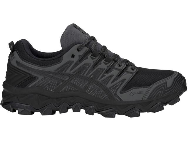 asics Gel-FujiTrabuco 7 G-TX Zapatillas Hombre, black/dark grey